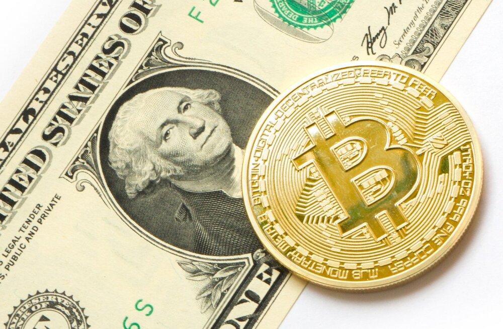 Bitcoini rekordhinnast on möödunud aasta