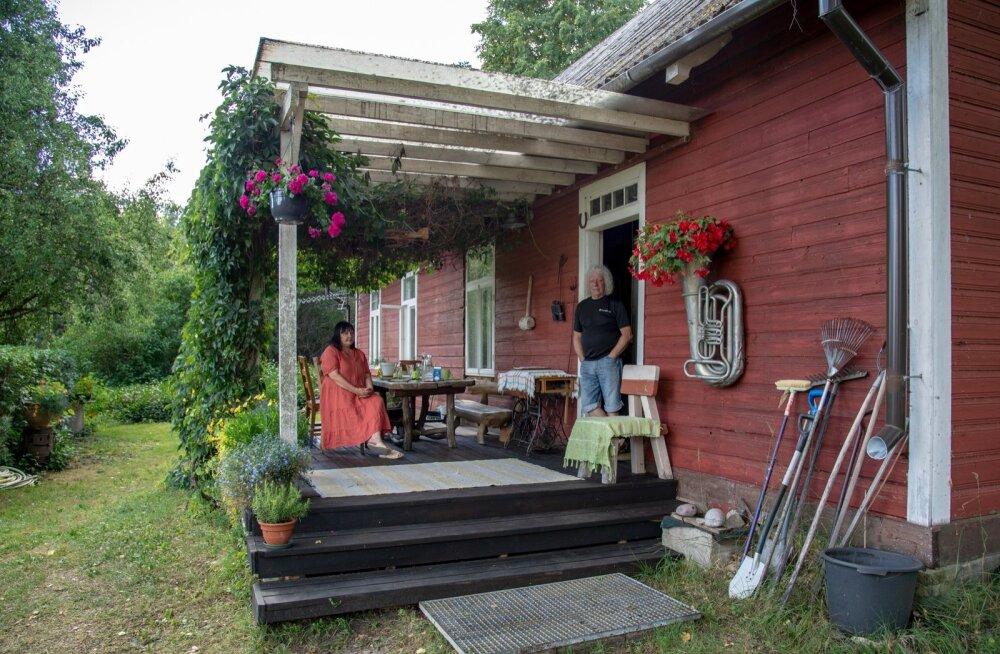 Vlassovite maakodu, Käspre talu Pärnumaal