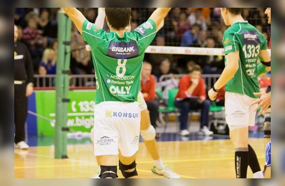 Võrkpall - Bigbank Tartu vs Tallinna Selver