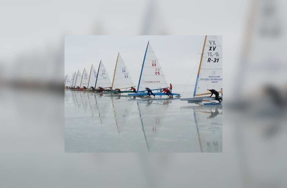 Kosk sai jääpurjetamise EM-il 11. ja Vooremaa 12. koha