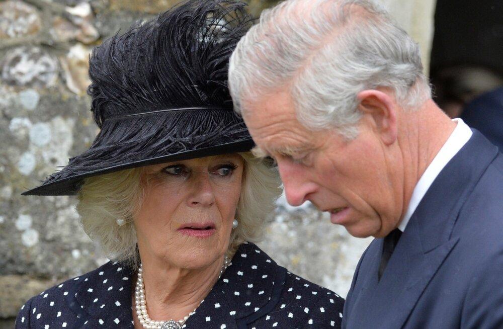 Cornwalli hertsoginna Camilla abikaasa prints Charlesiga