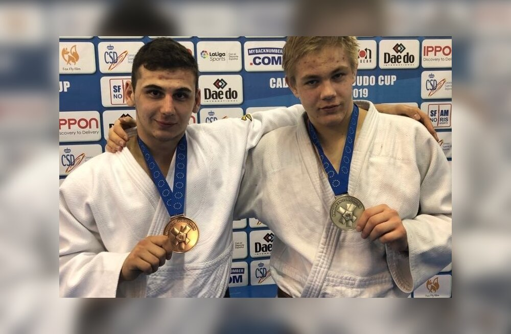 Givi Kokhtashvili ja Karl Tani Priilinn-Türk.