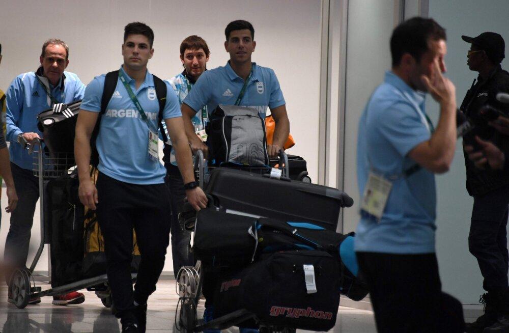 Alla kukkunud lennukiga sõitis hiljuti Argentina jalgpallikoondis