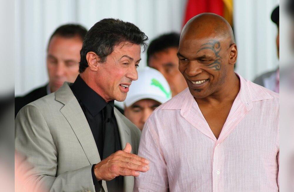 Mike Tyson ning Sylvester Stallone valiti poksi Kuulsuste halli