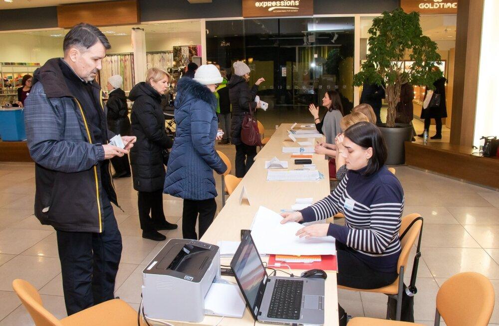 Riigikogu valimised Saaremaal 2019 3 märts