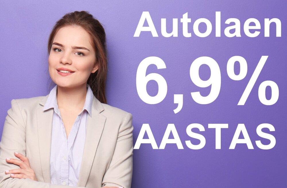 Jaanuaris autolaen intressiga vaid 6,9% aastas! Ka FIE-le