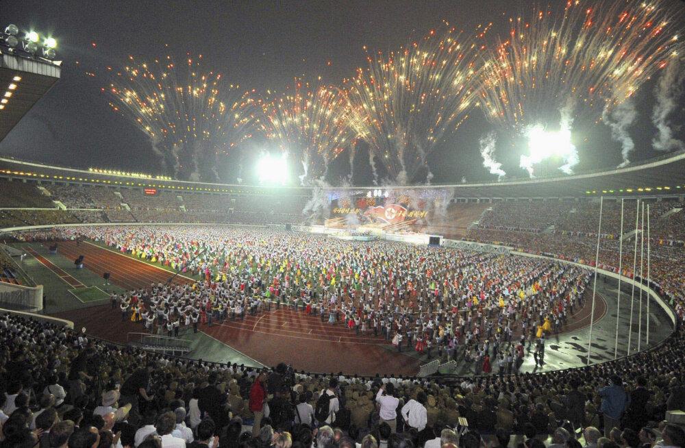 Ajalooline kohtumine: Põhja-Korea võõrustab MM-valikmängus lõunanaabreid