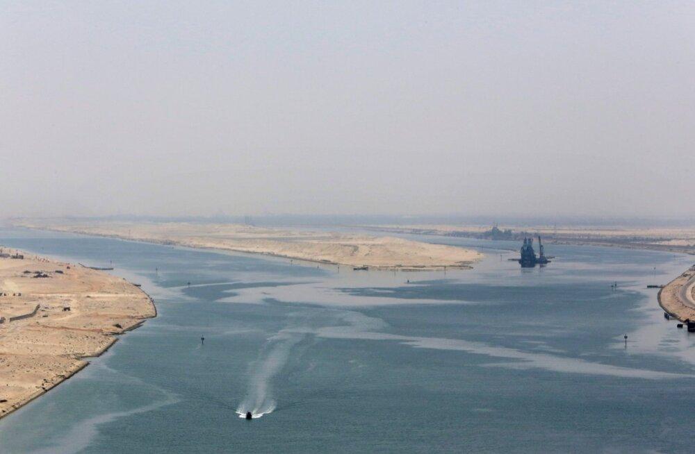 GRAAFIK: Egiptus loodab uue Suessi kanali avamisest tõuget oma majandusele
