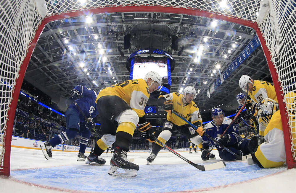 Peagi Tondiraba jäähallis mängiv Venemaa klubi üllatas kahekordset Gagarini karika võitjat