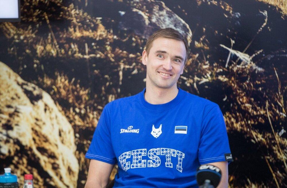 Eesti korvpallikoondise pressikonverents
