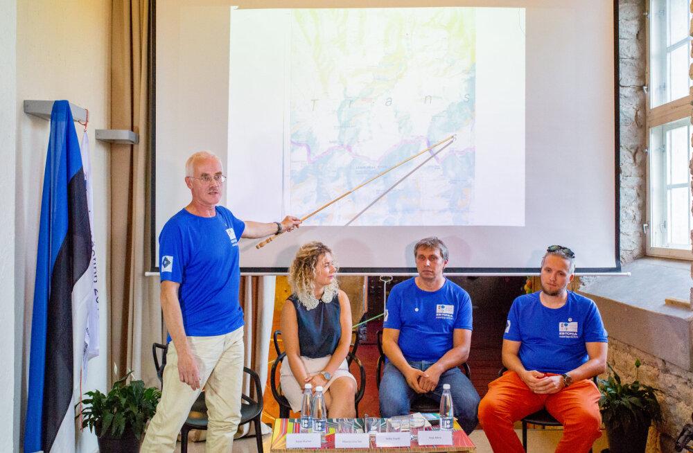 ФОТО и ВИДЕО: В подарок к столетию Эстонии альпинисты поднимутся на высоту 6211 метров