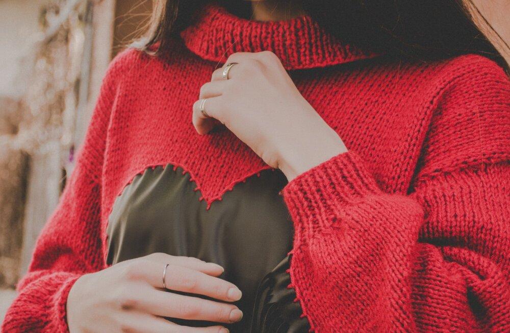 FOTOD | Põnevad viisid, kuidas sel talvel moekalt sooja kampsunit kanda