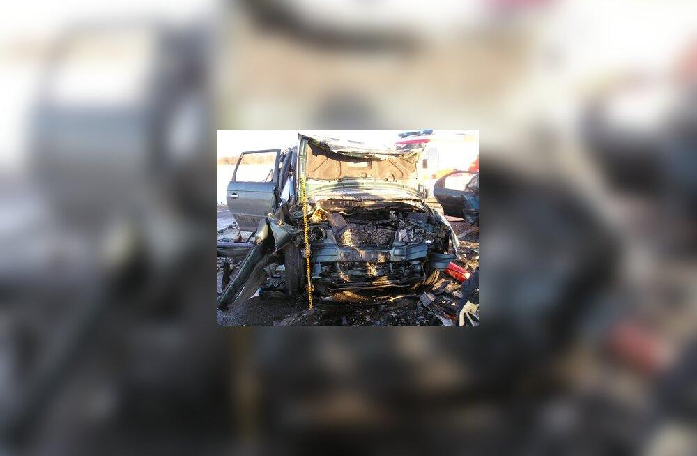 liiklusõnnetus jõgevamaal, avarii