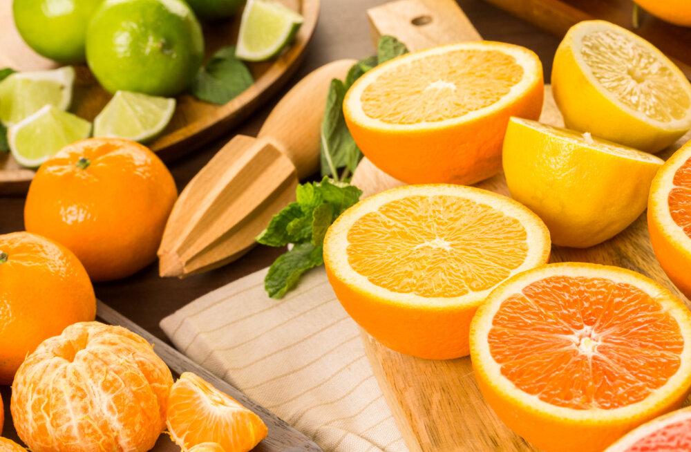 C-vitamiin aitab püsida noorena ja toetab immuunsüsteemi
