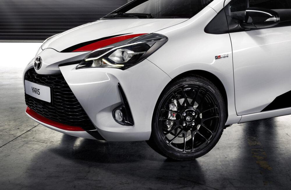 Toyota GRMN: sütikuga väikeauto vaid kuuesajale valitule