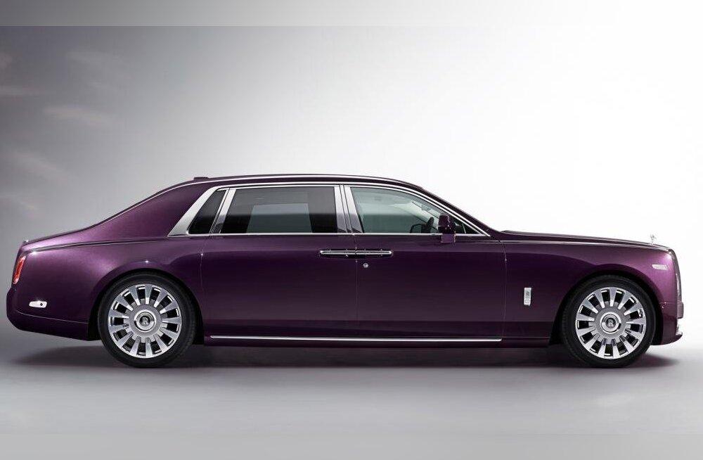 Rolls-Royce Phantom VIII: maailma vaikseim auto!