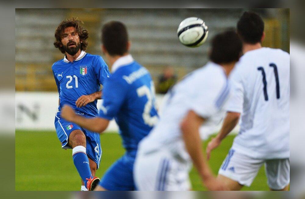 VIDEO: Itaalia lõi sõprusmängus maailma kõige kehvemat jalgpalliriiki