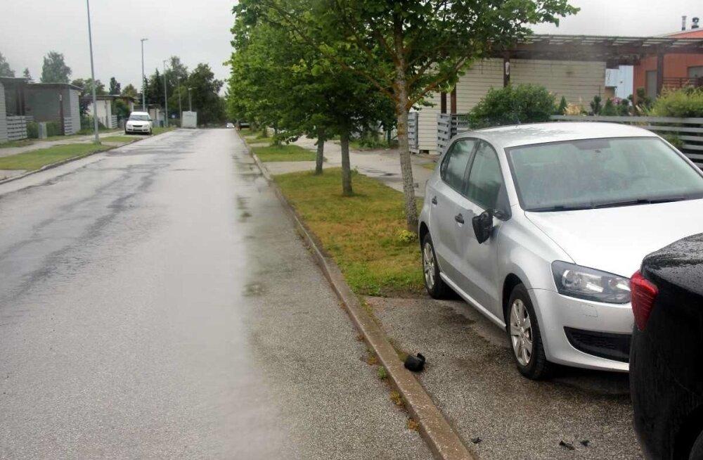 Lehe tänava avarii