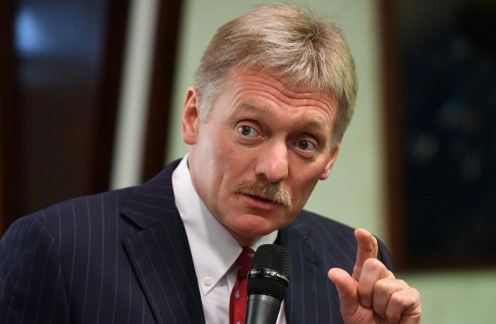 Kreml: olukord rahustati, kui Vene piirivalvurid rahustasid Vene riigipiiri rikkujad