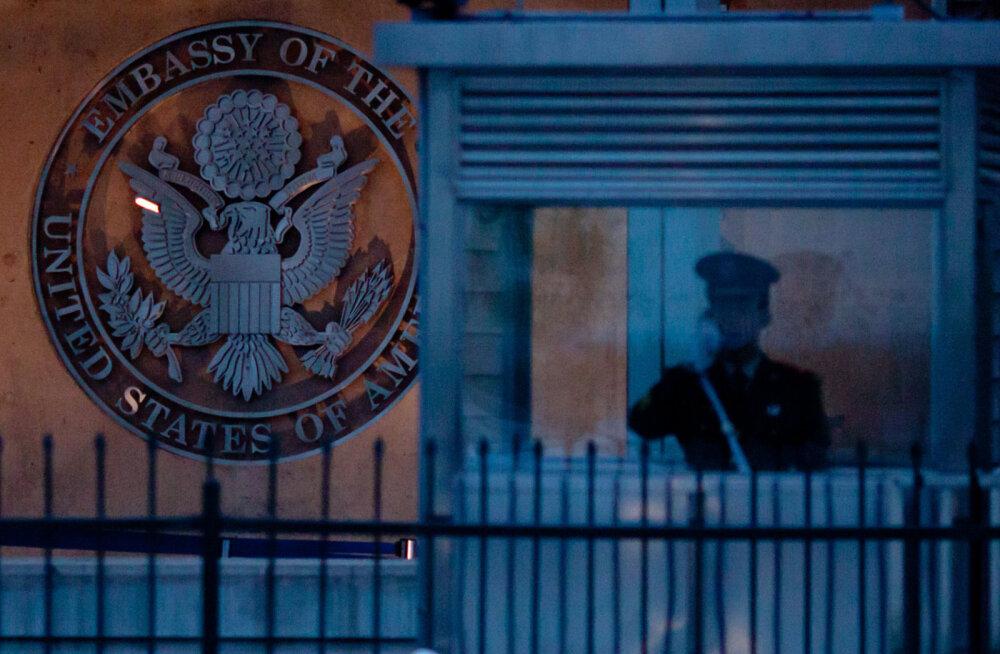 """USA asus """"helirünnakute"""" tõttu Hiinast oma diplomaate evakueerima"""