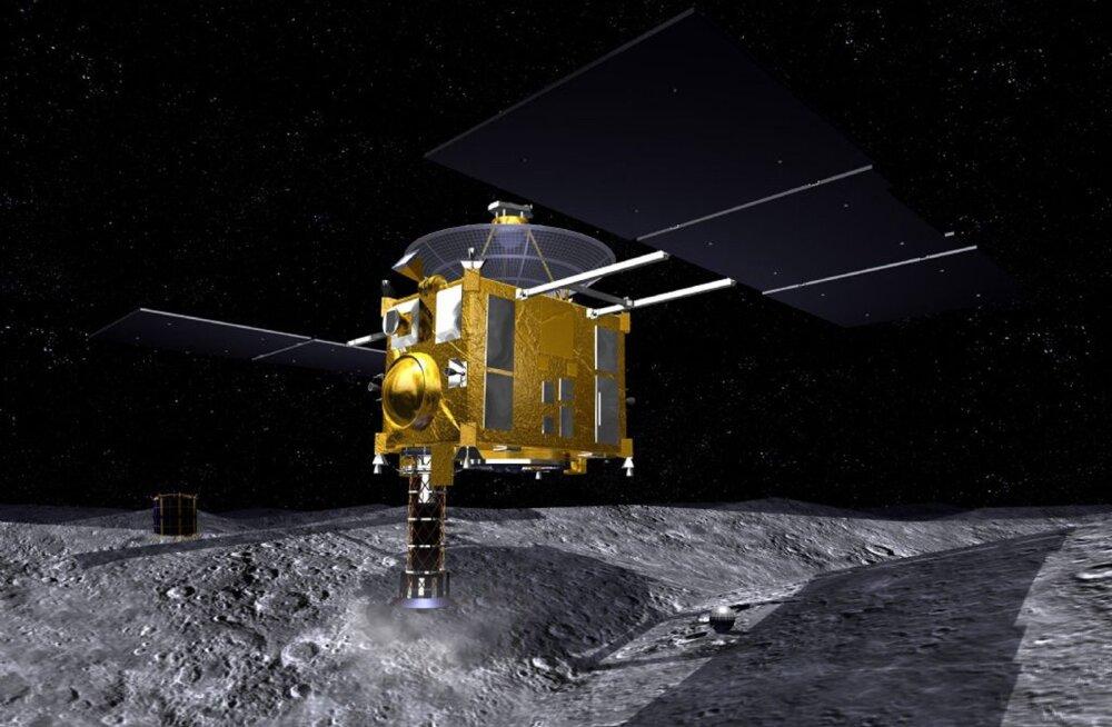 Hayabusa põrkas 2005. aastal kogemata kokku asteroidiga Itokawa.