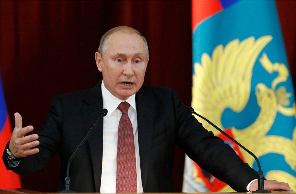 Bloomberg: Putin ütles, et pakkus Trumpile referendumi korraldamist Ida-Ukrainas