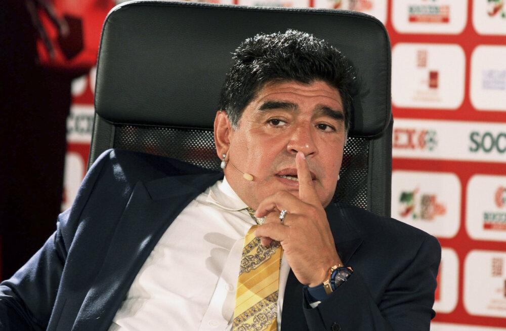 Diego Maradonale tehti teine maovähendusoperatsioon