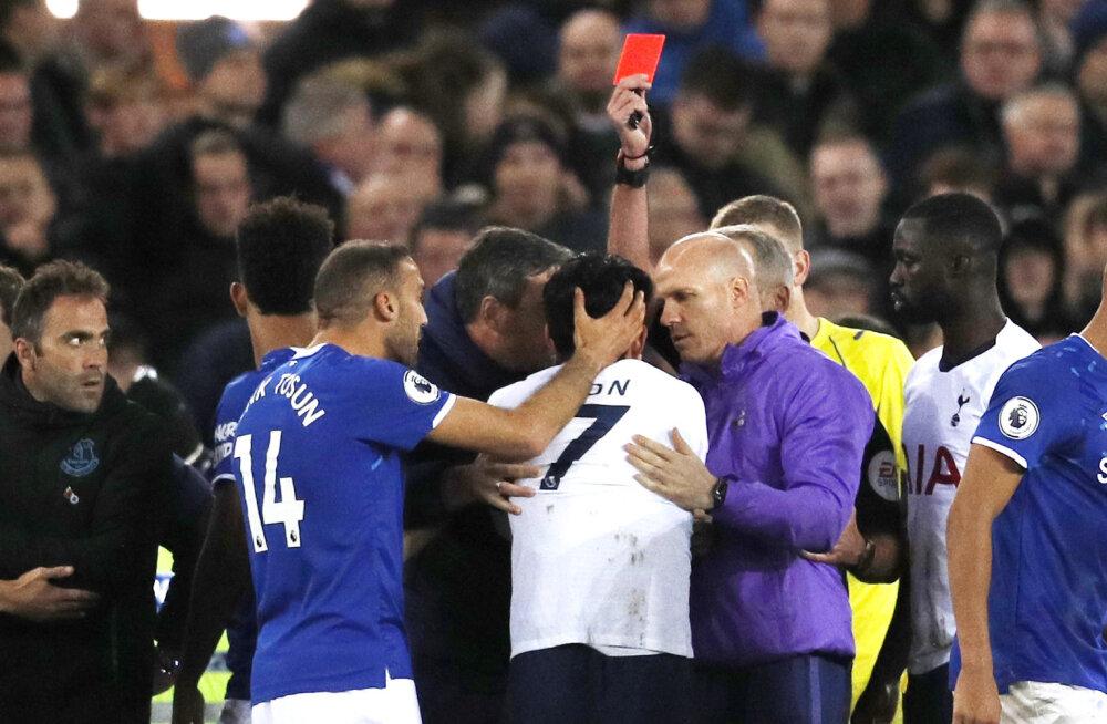 Vähemuses lõpetanud Tottenham kaotas taas punkte, Leicester jätkab kolmandana