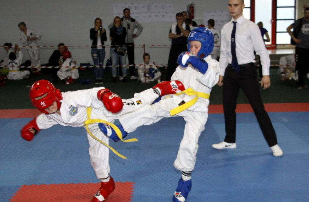 ФОТО: В Кохтла-Ярве прошел чемпионат города по таэквондо