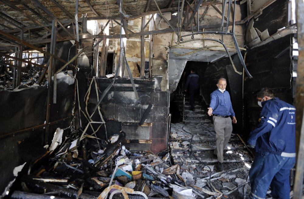 ÜLEVAADE   Iraani on viimastel nädalatel raputanud salapärased plahvatused ja tulekahjud