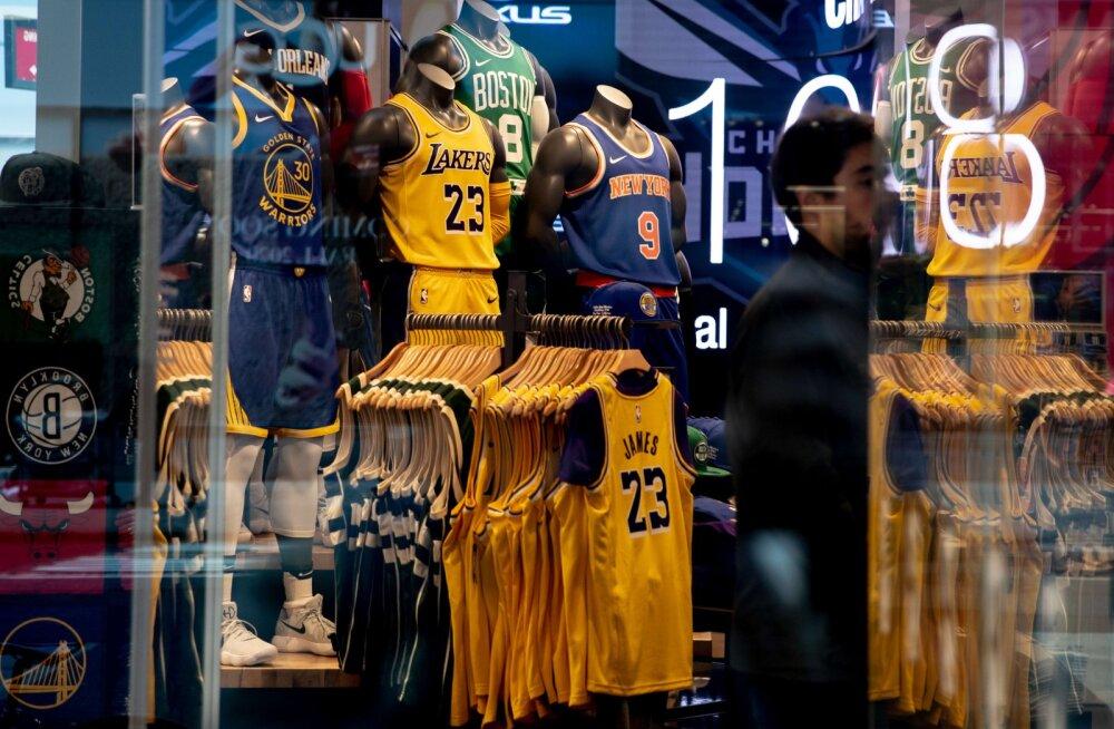 pood, NBA särgid