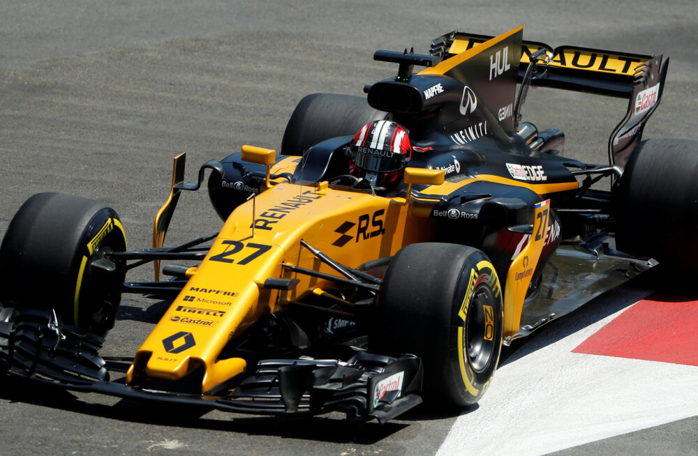 Renault paneb Austria GP vabatreeningul rooli venelase