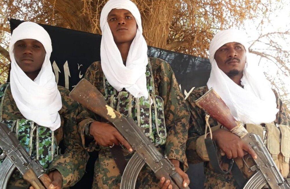 Housseyne Ag Issa foto terroristidest, kes väidetavalt Mali Gao sõjaväebaasi ründasid.