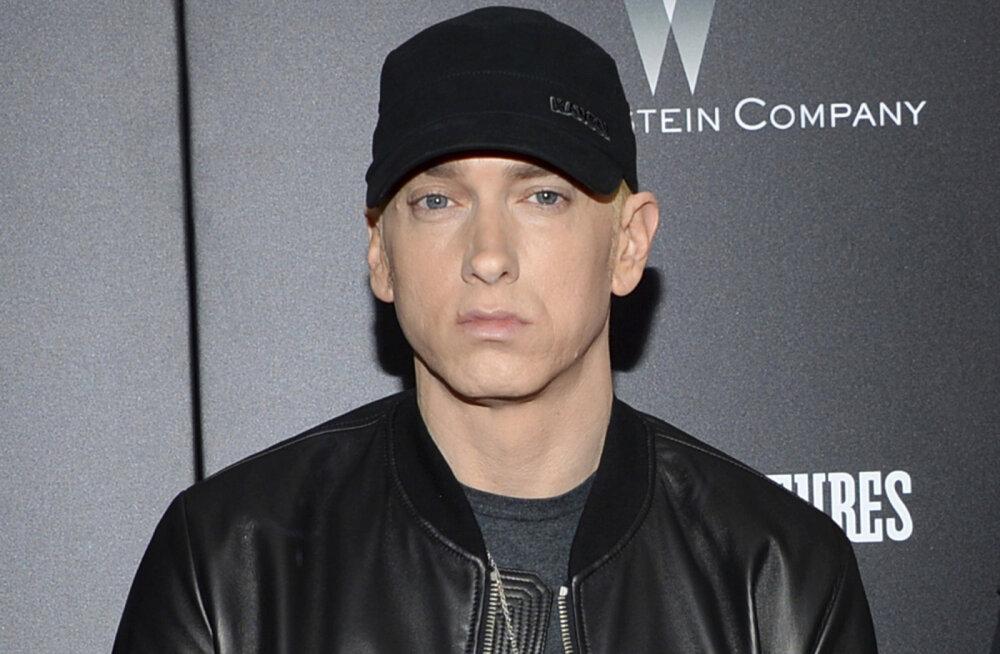 Võimudega pahuksis: Eminemi räpiread tõid kaela paksu pahandust