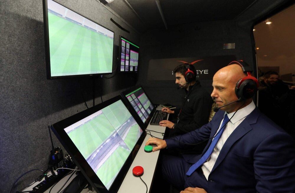 Furoori tekitanud videokohtunike süsteem võetakse suvel jalgpalli MM-il kasutusele