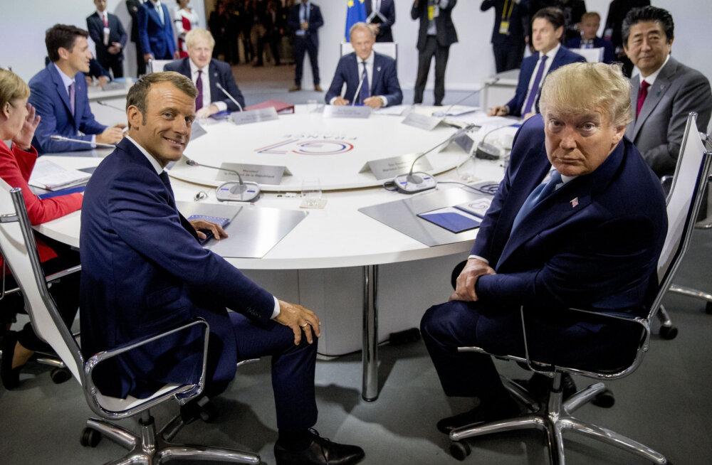 G7 tippkohtumist saatis hirm majanduskrahhi ees