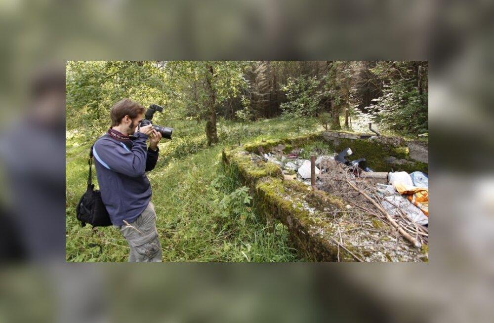 ФОТО: Фотограф из Японии увидел свалку на месте бывшего нацистского концлагеря