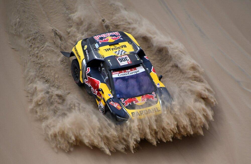 Dakari rallit juhib avapäeva järel kahekordne võitja, Sebastien Loeb 13. kohal