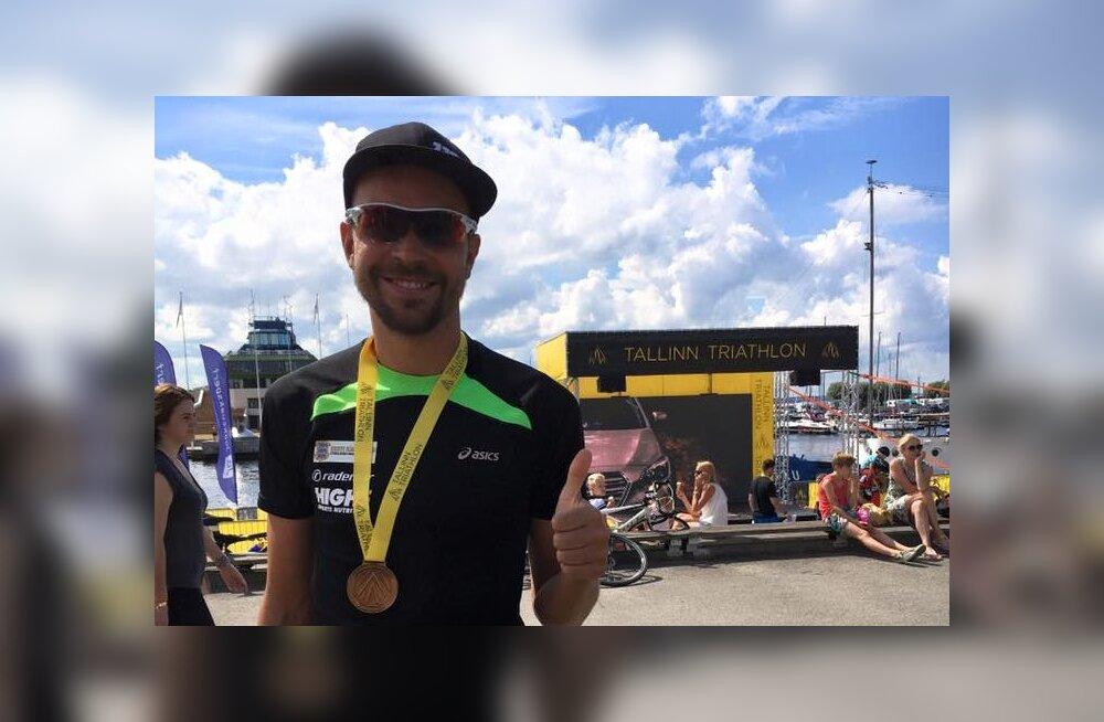 Latin tuli teist aastat järjest triatloni Eesti meistriks