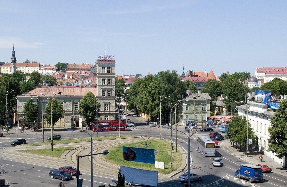 В субботу в связи с Tallinn Music Week будет перекрыто движение в центре Таллинна