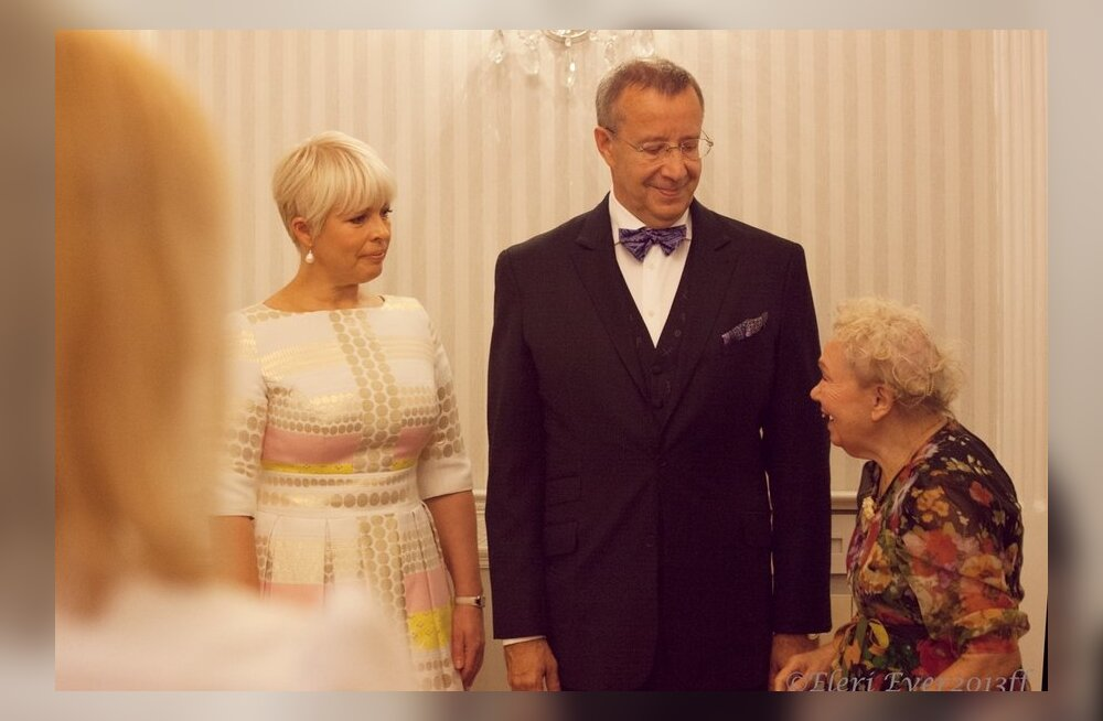 President Ilves New Yorgis