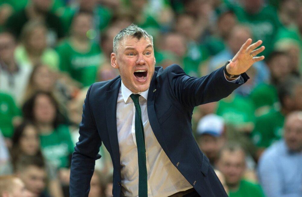 Jasikevicius siirdub lombi taha? Žalgirise peatreeneri vastu tunneb üks NBA meeskond konkreetset huvi