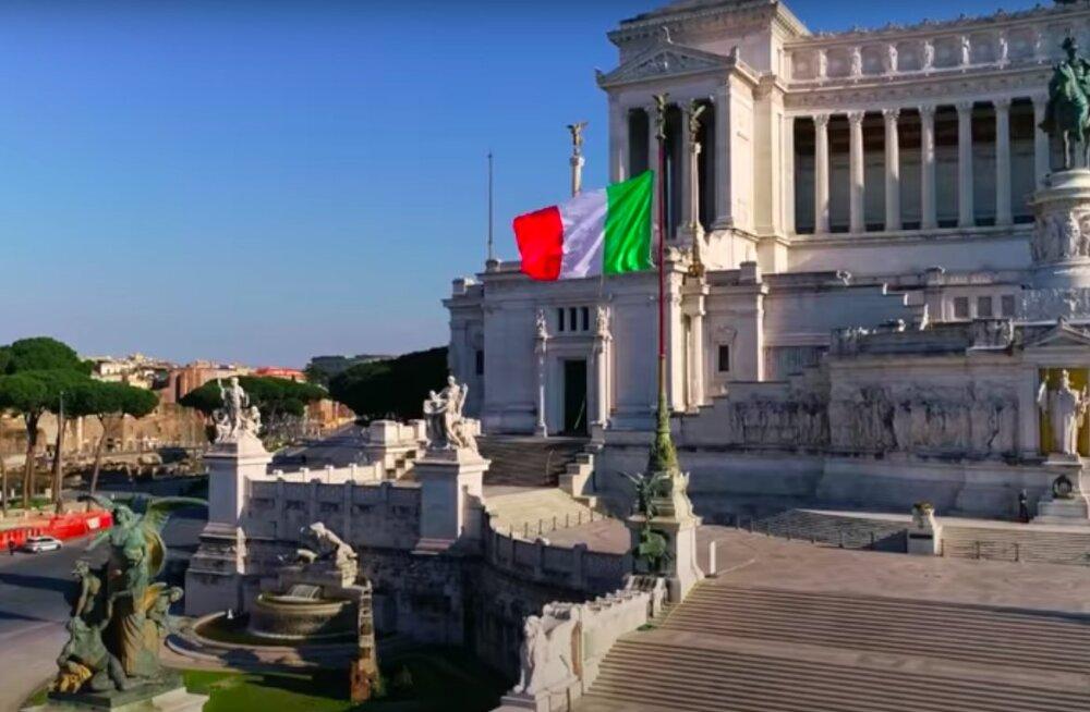 VAIKUS ROOMAS | Vaata videot imeilusast, kuid inimtühjast Itaalia pealinnast