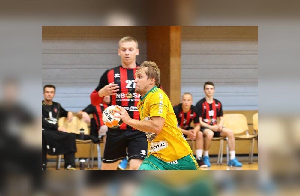 Käsipallileegion: Ott Varik kerkis Siuntio IF-i sangariks