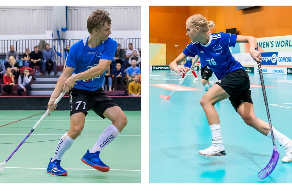 Eesti saalihoki parimateks mängijateks valiti Ken Pähn ja Kristel Kopel