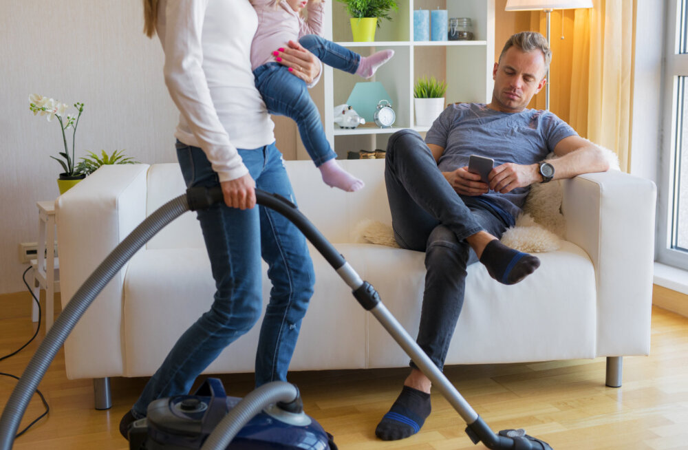 Teeme selgeks, miks on oluline, et nii mees kui naine hoolitseksid laste eest ja teeksid majapidamistöid