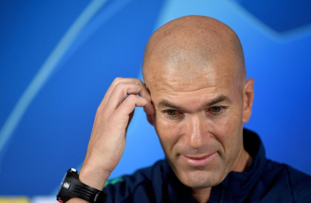 Zinedine Zidane'il mõtteainet on.