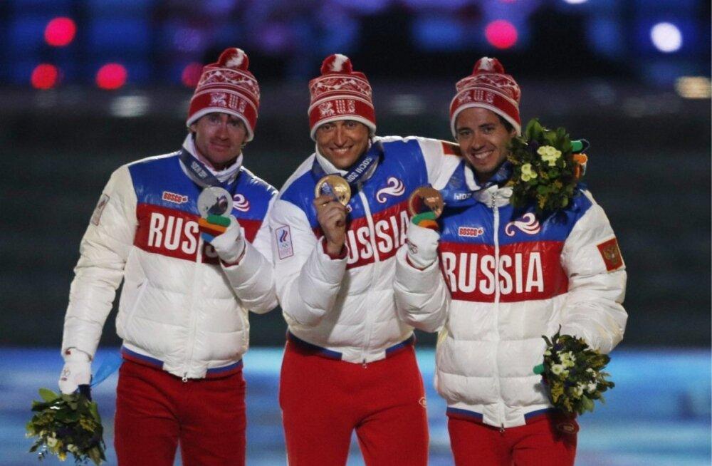 Absurdne seis. Sotši olümpial 50 km suusasõidus kulla ja hõbeda võitnud Aleksander Legkov ja Maksim Võlegžanin peavad medalid tagastama, sest olid Venemaa dopingusüsteemis osalised. Pronksi saanud venelane Ilja Tšernoussov tõuseb kullale, sest ei olnud do