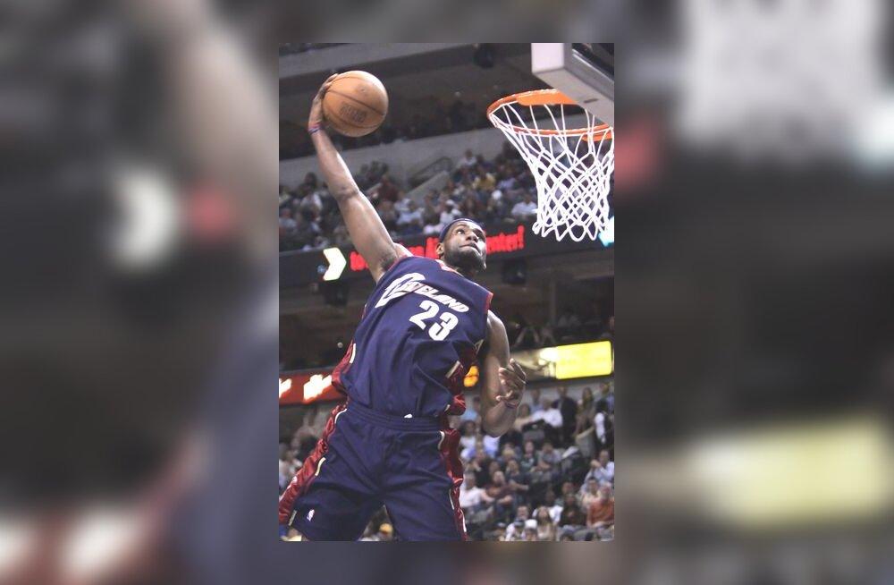 Cleveland Cavaliersi tähtmängija LeBron James