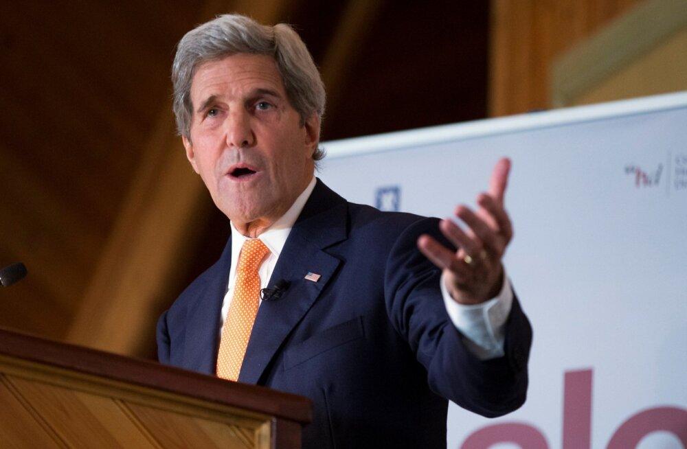 Kerry Venemaale: USA kannatus Süüria asjus on väga piiratud